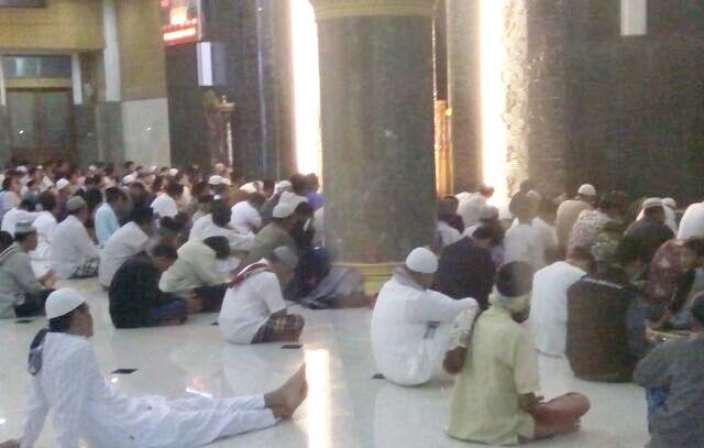 DSH Selenggarakan i'tikaf di masjid Agung Al Aqsho