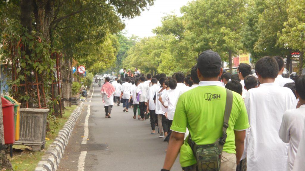 Sambut Ramadhan, 1.200 Peserta Mengikuti Pawai dengan Tertib dan Lancar