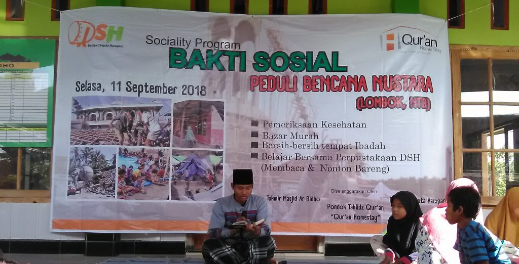 Dari Klaten Bersinar untuk Lombok, NTB