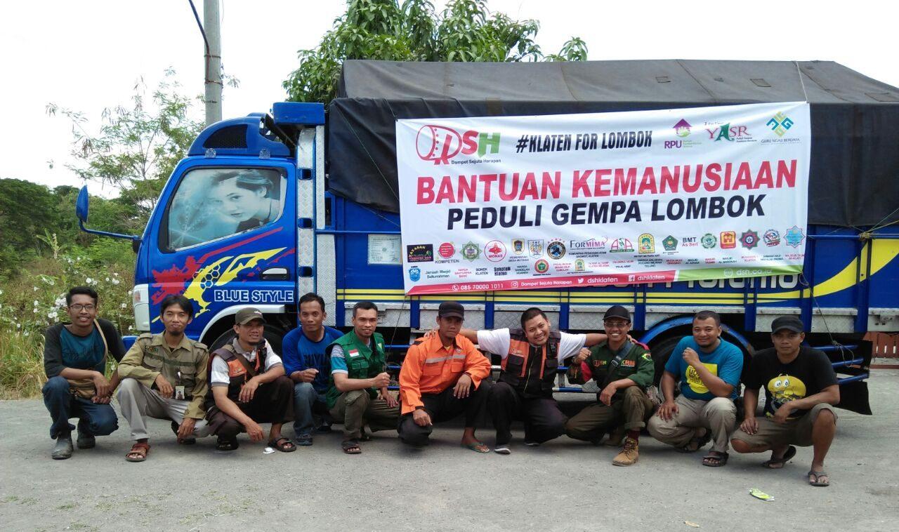 Relawan Lombok, Pemberangkatan Kedua Mengemban Misi yang Sama