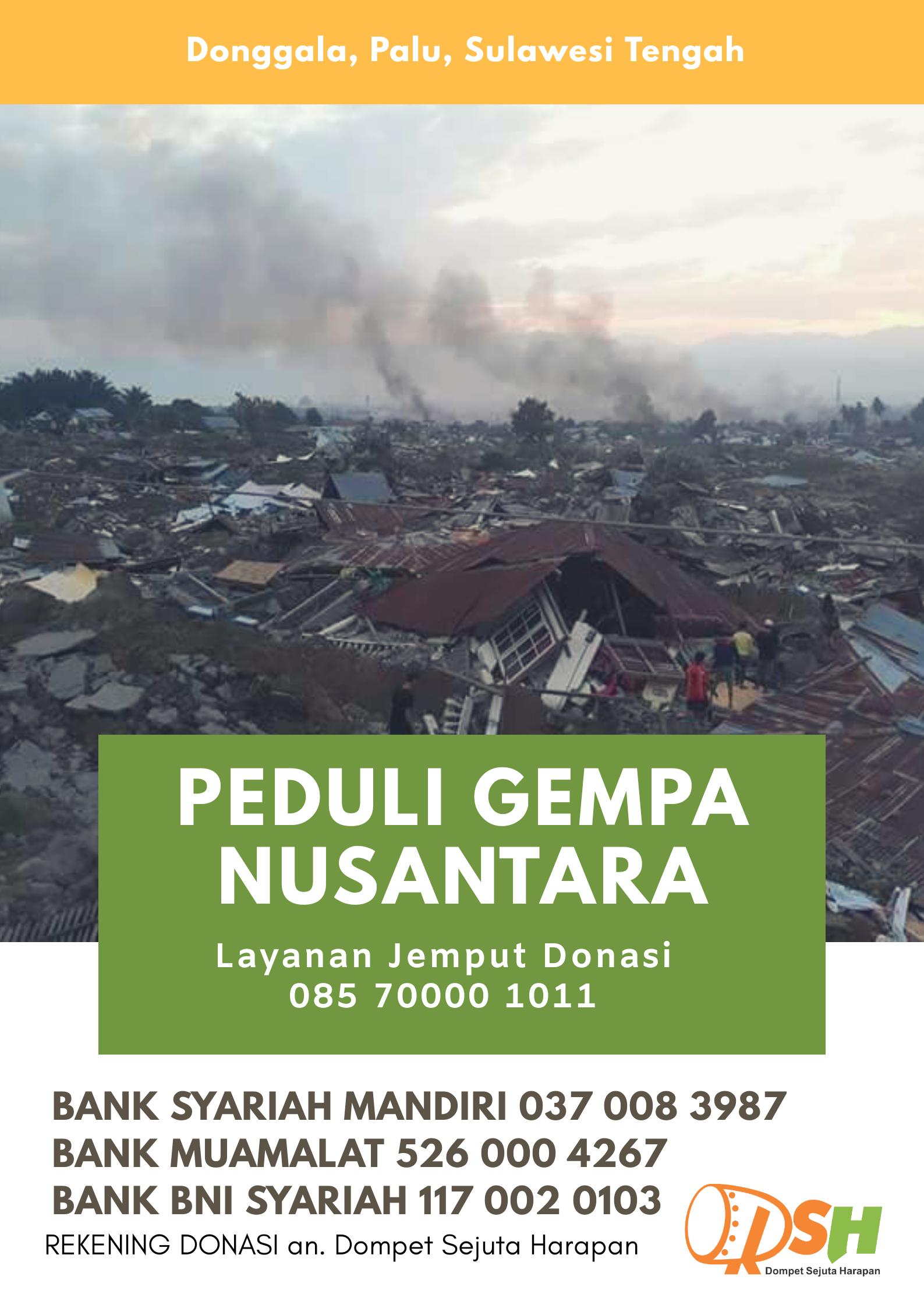 Update Situasi Terkini Pacsa Gempa Tsunami di Palu & Donggala