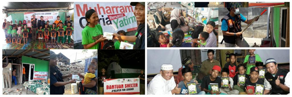 [Pemberangkatan Ketiga Relawan Lombok] Bersama Menghimpun Mimpi yang Sempat Terserak