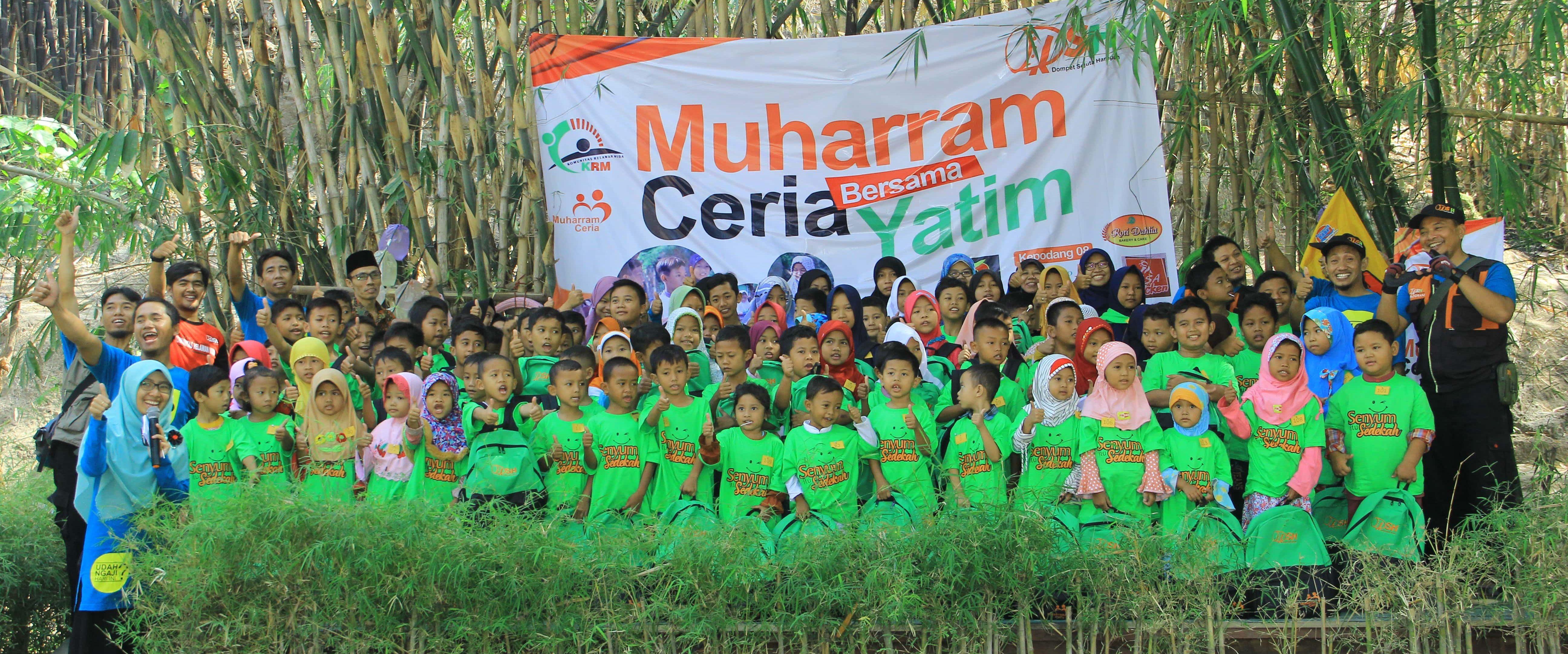 Muharram Ceria, Keceriaan Mereka Bahagia Kami