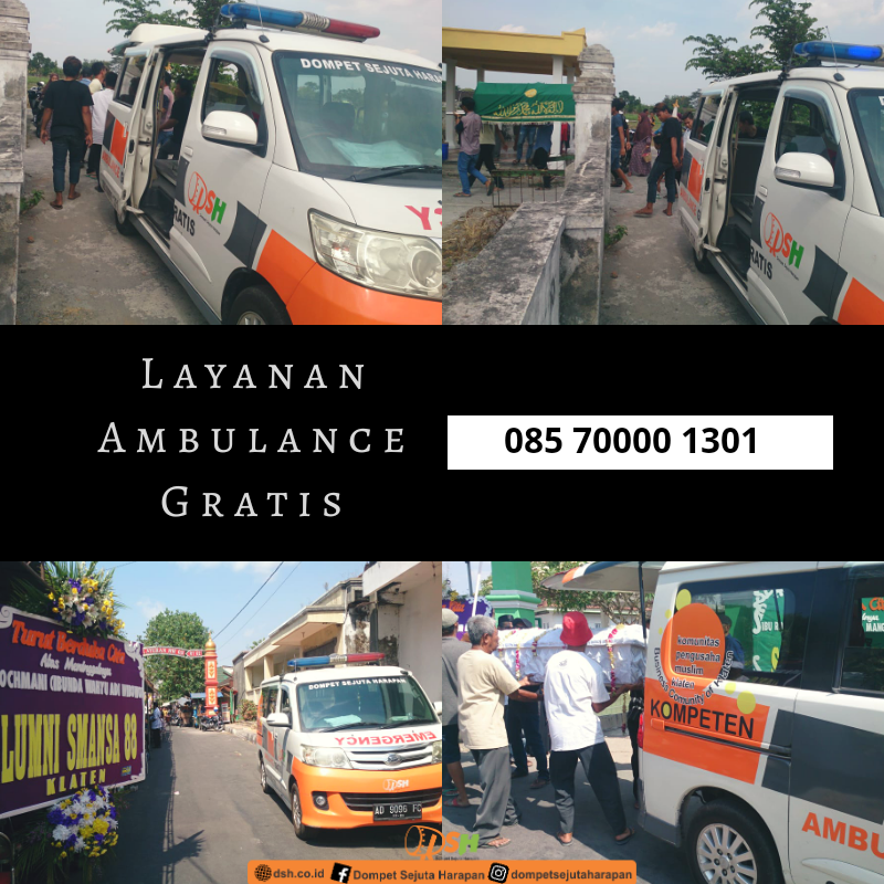 [Ambulan Gratis DSH] Menyegerakan Kebaikan Hingga Waktu Terhenti
