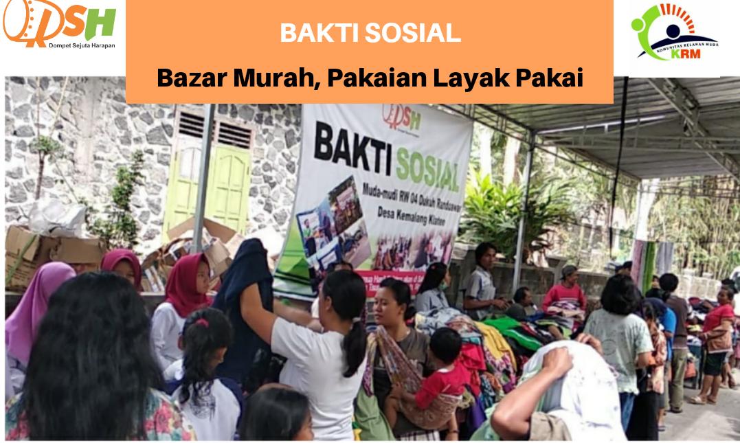Antusias Warga Mengikuti Bakti Sosial Peduli Korban Bencana Nusantara