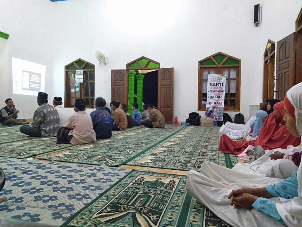 Pelatihan Bekam DSH Jogja untuk Jamaah Masjid Al Barokah