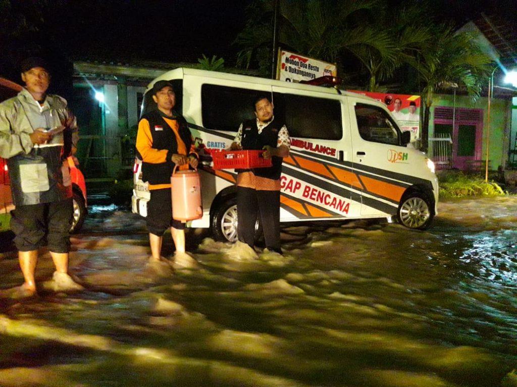 Hujan Lebat, Banjir dan Longsor Isolir Warga Cawas dan Sekitarnya