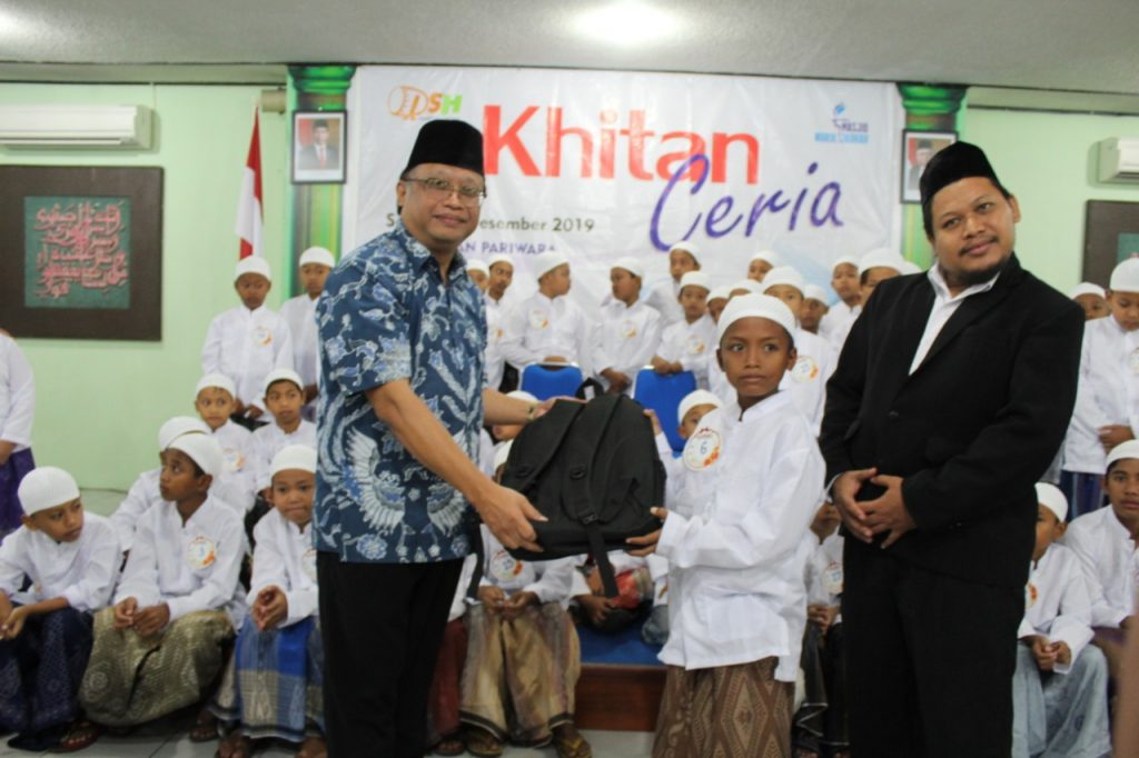 Gandeng PT. Intan Pariwara Klaten, DSH Selenggarakan Khitan Ceria