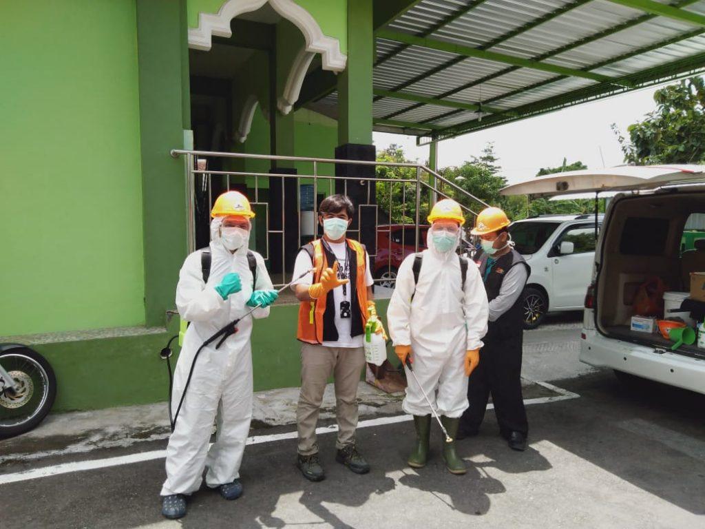 DSH dan KRM jadwalkan aksi Penyemrpotan desinfectan